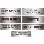 Warning Signs for Home, Office, Business